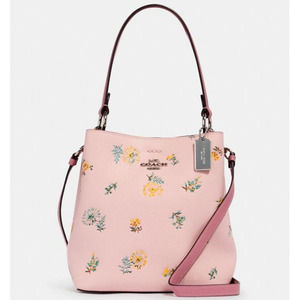 Coach Small Town Bucket Bag Pink
